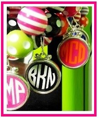 Monogrammed Charms